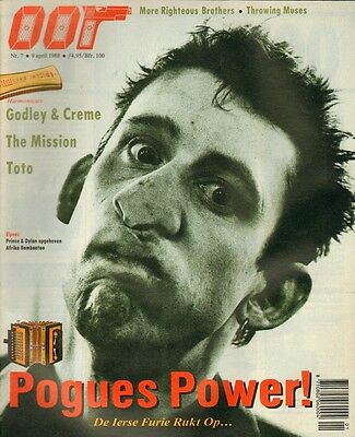 MAGAZINE OOR 1988 nr. 07 - POGUES / THROWING MUSES / TOTO / MISSION