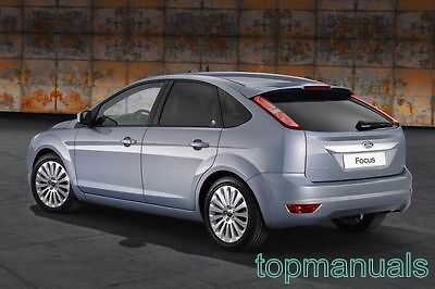 Manual De Taller Ford Focus Ii 1.6 1.8 Tdci Workshop