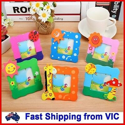 Cartoon Mini Photo Frame Novelty Kids Toys School Office Gifts Cute Stationery