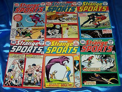 STRANGE SPORTS (DC Comics): #1-6,1973-1974, Curt Swan Art, Fine-Very Fine