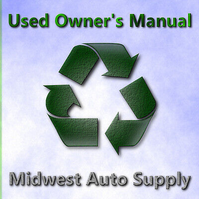 98 lincoln continental owners manual 9 00 picclick rh picclick com 1998 lincoln continental owner s manual BCM On Lincoln Continental