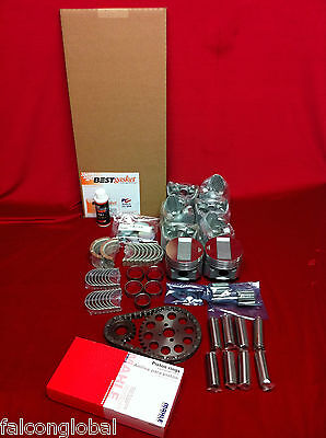 Ford 6 Deluxe engine kit 1941 42 46  47 226 90hp pistons valves rings gaskets+