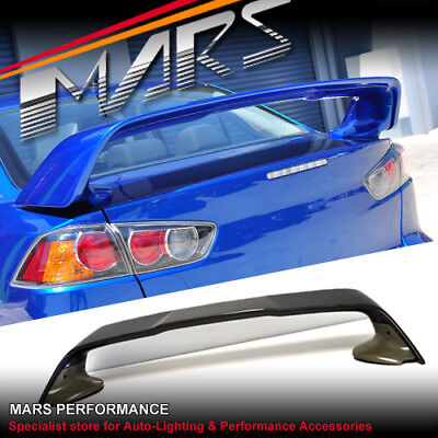 Evolution X Style ABS Rear Trunk Wing Spoiler EVO Mitsubishi Lancer Sedan