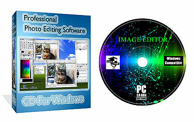 Professional Photo Image Editor Illustrator Painter Photography Software PC MAC