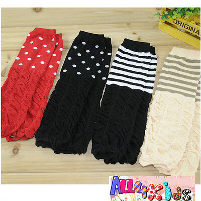 Extra Thick Cute Baby Kids Toddler Arm Leg Warmer Legging for Variety Designs