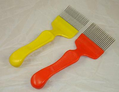 2X Uncapping Forks (One With Cranked Tines / One With Straight Tines) Beekeeping