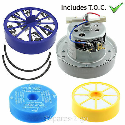 YV 2200 YDK TYPE Vacuum MOTOR Fits DYSON DC14 Hepa + Post Filter & Seal KIT