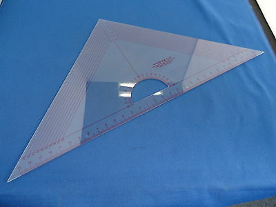 Graders Set Square Ruler for Pattern Making, Tailors, Students, T045 IN CM