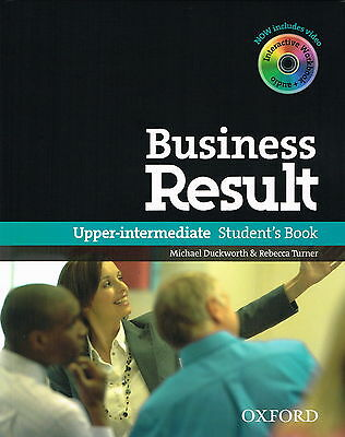 BUSINESS RESULT DVD EDITION Upper-Intermediate Student's Book with DVD-ROM @NEW@