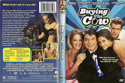 "David DeLuise ""Buying The Cow"" Autographed 2002 DVD Cover ""Fratguy"" w/Coa"
