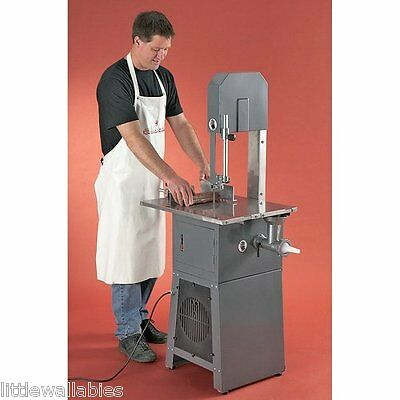 3/4Hp Meat Saw Butcher Mincer +Grinder Stuffer Stainless Steel Table