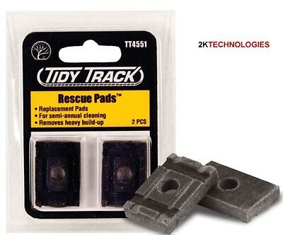 Woodland Tidy Track TT4551 Spare Parts - Replacement Pads x 2  1st Class Post