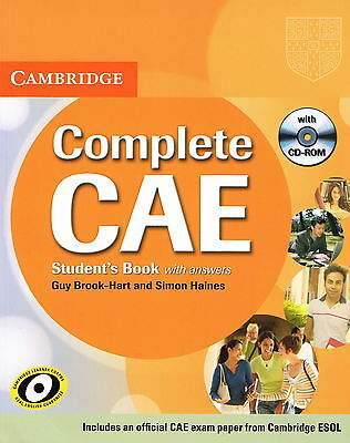 Cambridge COMPLETE CAE Student's Book w Answers & CD-ROM | Brook-Hart Haines NEW