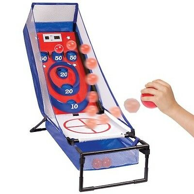 Electronic Skee Ball Trampoline Ball Bounce Game. Classic Arcade. Xmas Gift!