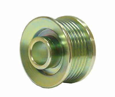 Ford 6 groove overdrive alternator pulley.. Increase amps at idle