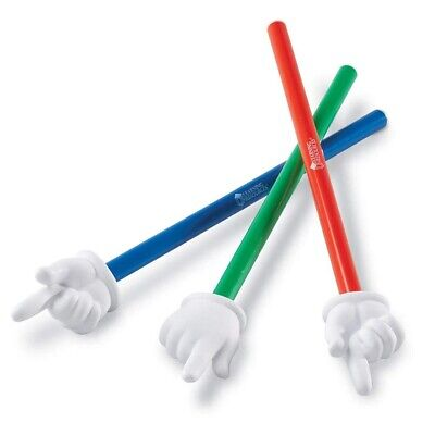 Learning Resources 1 x Hand Pointer - Children's and Teachers Classroom Pointer