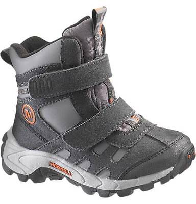 Merell Kids Moab Polar Mid Strap Waterproof Insulated Boots
