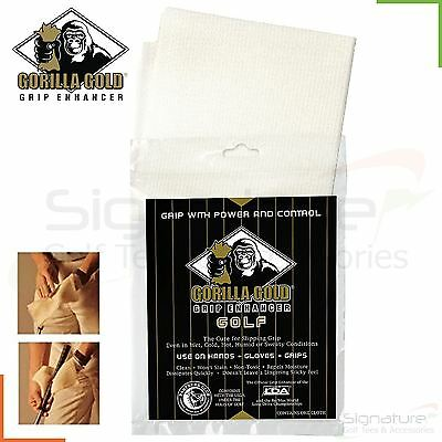 Gorilla Gold Golf Grip Enhancer - Also Ideal for Racket Sports / Pole Fitness