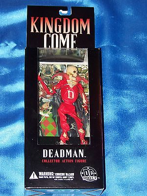 "DEADMAN: 6"" Collector Action Figure, KINGDOM COME-DC DIRECT By Alex Ross, New"