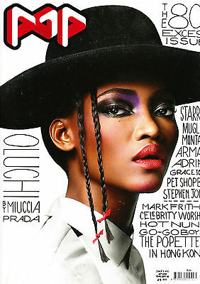POP MAGAZINE #19 OLUCHI ONWEAGBA + AGENT PROVOCATEUR Poster TIM BRET-DAY @EXCL@