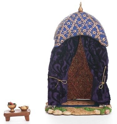 2 PIECE SET 9'' PURPLE KING TENT WITH  - FONTANINI COLLECTION