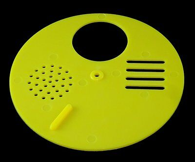 Entrance Reducer - Beehive - Tbh - Rotating Bee Hive Nuc Entrance Disc  -Yellow