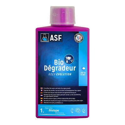 Aquarium Systems REEF EVOLUTION Bio Degradeur 250 ml (71,2€/L) Bakterienstarter