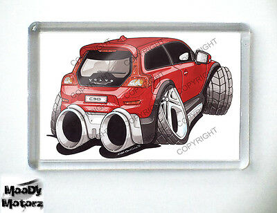 VOLVO C30 R DESIGN Sports Car Koolart Quality Fridge Magnet