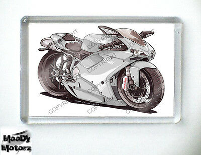 DUCATI 1098 SUPERBIKE Koolart Quality Fridge Magnet