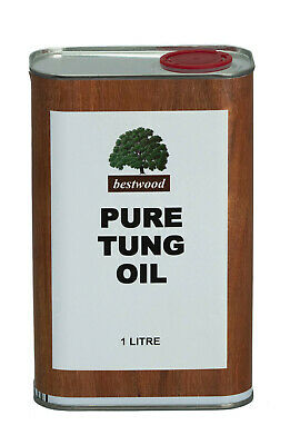 Pure Natural Tung Oil, Bestwood, 1 Litre, TOP QUALITY, BUY DIRECT
