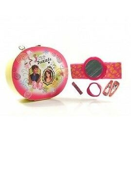 High School Musical Vanity Case HAIR ACCESSORIES GIFT SET... Disney Reusable Box