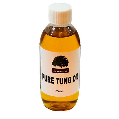 Pure Natural Tung Oil, Bestwood, 250 ml, Finest Quality, LOWEST PRICE