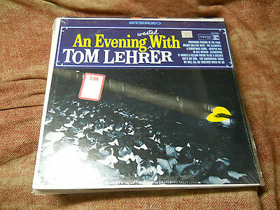Tom Lehrer - An Evening Wasted With Tom Lehrer Factory Sealed lp RS-6199