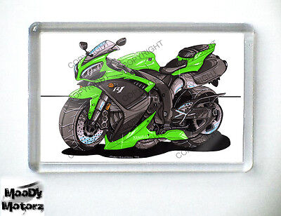 YAMAHA R1 SUPERBIKE Koolart Quality Fridge Magnet