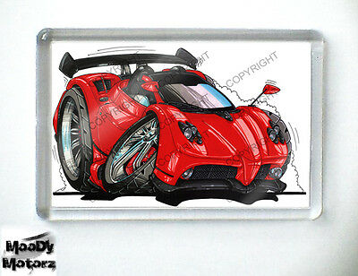 PAGANI ZONDA Sports Car Koolart Quality Fridge Magnet