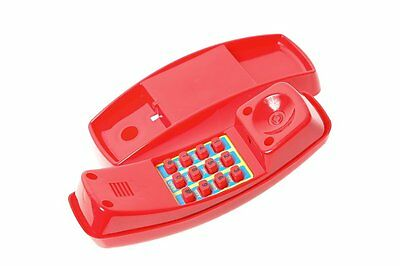 Cubby House Telephone RED Play Equipment Playground Toy Phone Toddler