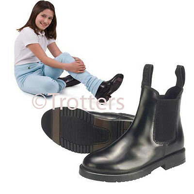 childrens horse riding jodhpur/jodphur boots all sizes black and brown leather