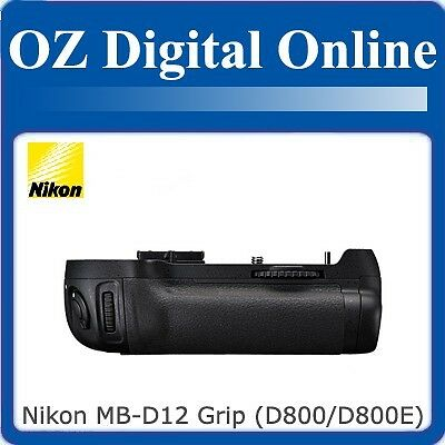 New Nikon Genuine MB-D12 Battery Hand Grip for D800 / D800E 1 Yr Au Wty