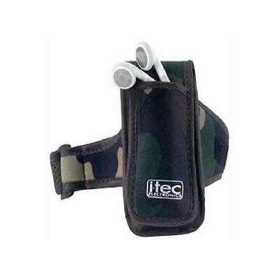 iTec Sport Band Carrying Case Apple iPod Nano 2nd Gen - Army Design NEW
