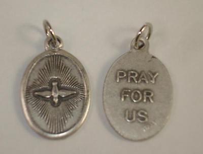 NEW Dove Holy Spirit Pray For Us Pendant Charm Religious Made in Italy