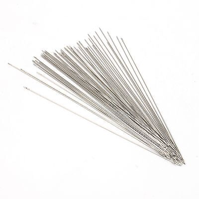 60x Beading Needles Fit Jewellery Making Threading 160041