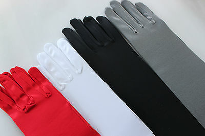 New elbow length gloves 40cm 4 colors party/halloween
