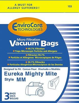 Eureka Type MM Mighty Mite Canister Vacuum Cleaner Bags # 60295B