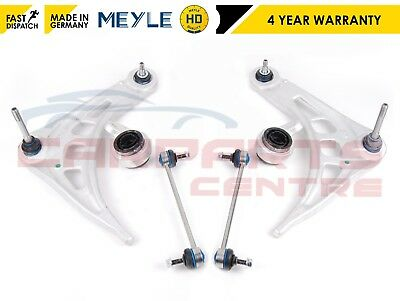 For Bmw E46 Front Lower Suspension Wishbone Control Arms Bushes Meyle Hd Links