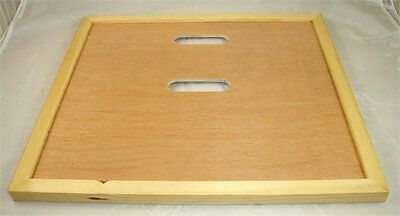 Crown Board - Two Holes - Crownboard - National Beehive - Beekeeping