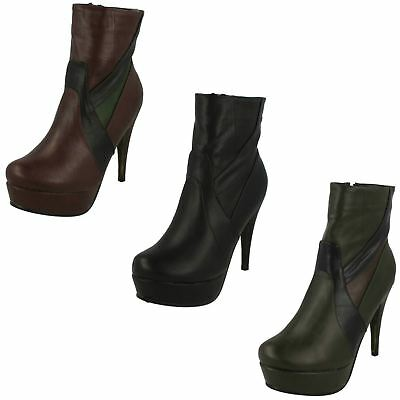 Ladies Coco Slip On Chelsea Platform Ankle Boots L8627 SALE ONLY £5.99!