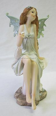 21cm Fairy Ornament & Pearl Suits a Fairy Garden Or Birthday Cake Topper NBF0100
