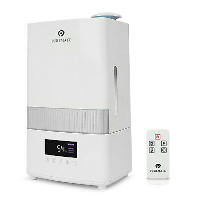 PureMate PM 702 Digital Ultrasonic Cool Mist Humidifier with Ioniser and Aroma