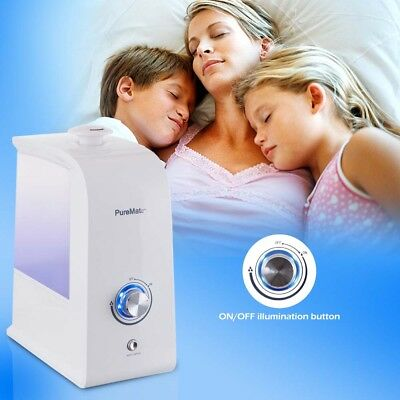 PureMate PM 718 Ultrasonic Cool Mist Humidifier