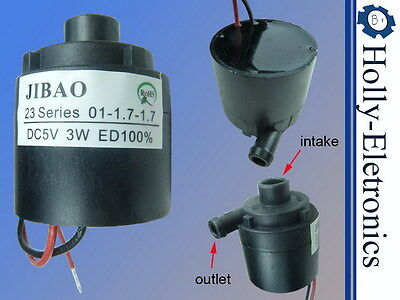 Mini DC 5V high temperature brushless submersible water pump